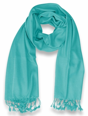 Mens Soft and Elegant 100% Cashmere Wrap  (Turquoise)