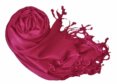 Luxurious Eco-friendly Pashmina Shawl (Merlot)