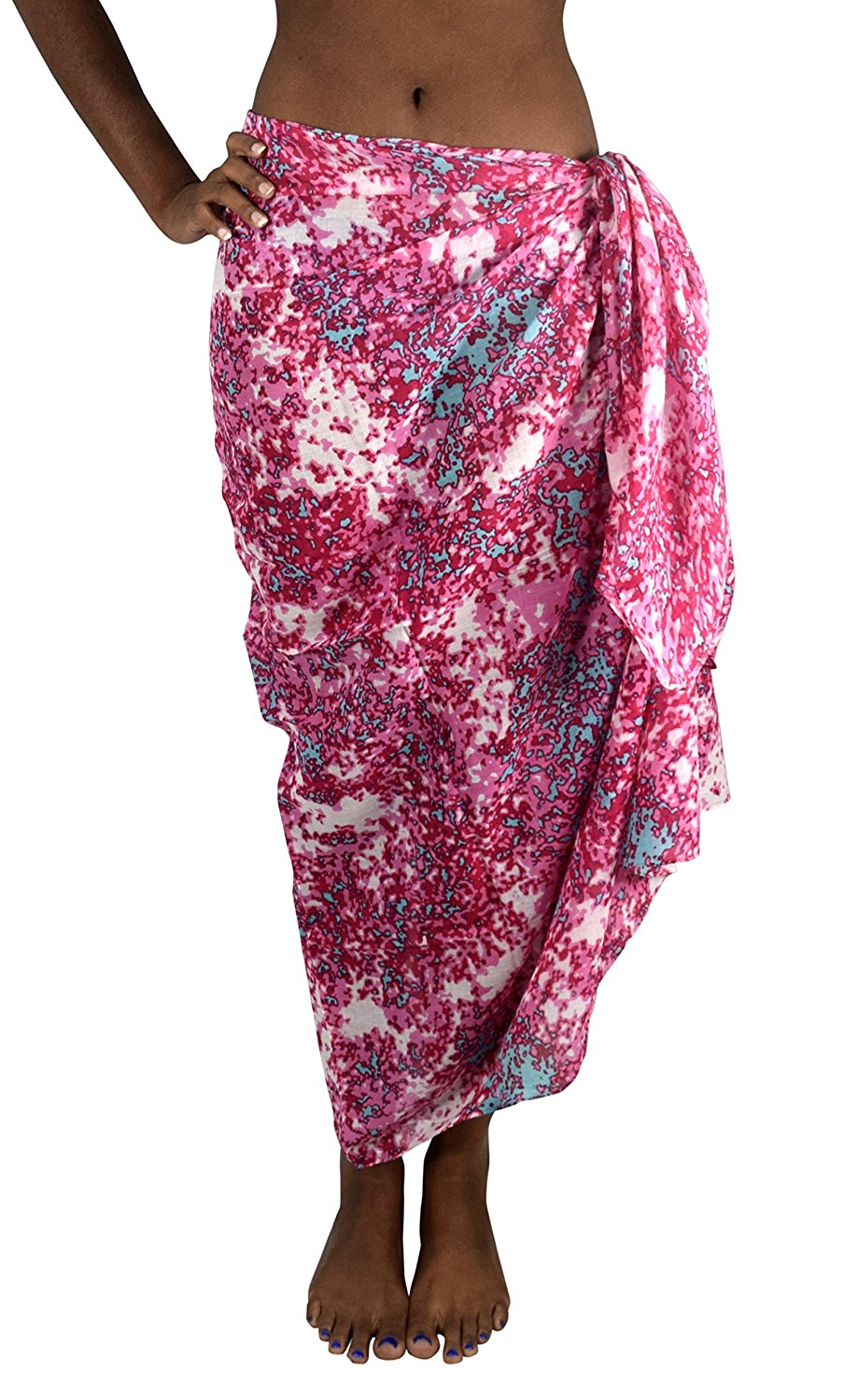 Multi Purpose Hawaiian Scarves Pareo Beach Wraps Sarongs
