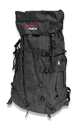 Outdoor Lovers Extra Large Durable School Travel Camping Backpack-Urban Gear (Black Bungee)