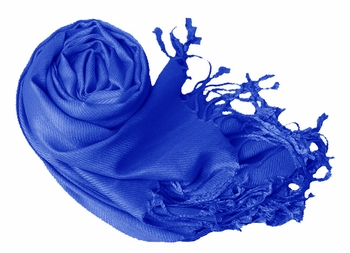 Luxurious Eco-friendly Pashmina Shawl (Blue)