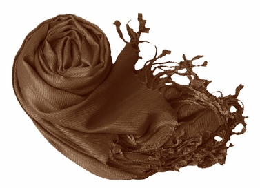 Luxurious Eco-friendly Pashmina Shawl (Chocolate Brown)