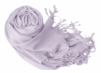 Luxurious Eco-friendly Pashmina Shawl (Ice Lavender)