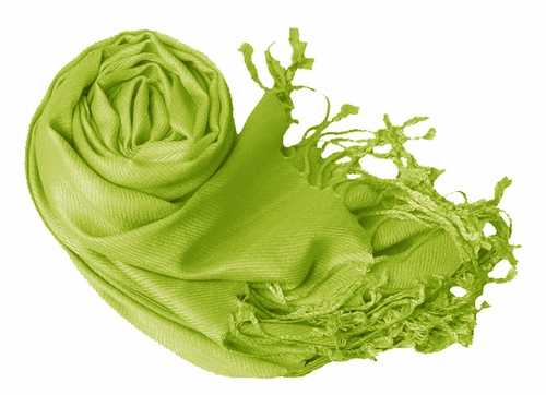 Luxurious Eco-friendly Pashmina Shawl (Kelly Green)