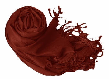Luxurious Eco-friendly Pashmina Shawl (Maroon)