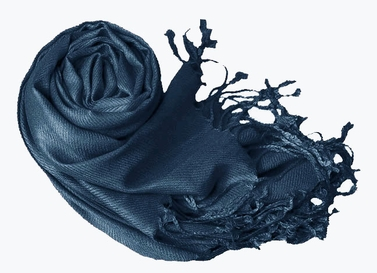 Luxurious Eco-friendly Pashmina Shawl (Midnight Blue)