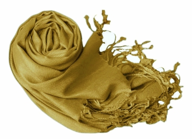 Luxurious Eco-friendly Pashmina Shawl (Olive Green)
