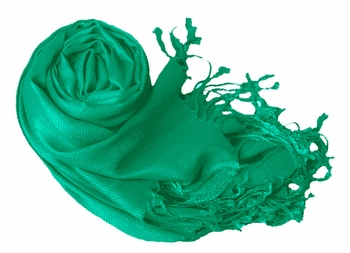 Luxurious Eco-friendly Pashmina Shawl (Teal)