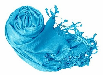 Luxurious Eco-friendly Pashmina Shawl (Turquoise)