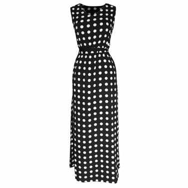 Pop Art & Polka Dots Maxi Dress