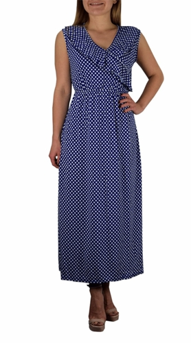 Bon Voyage Vintage Maxi Dress