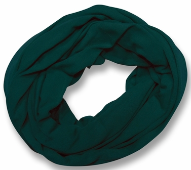 Soft Touch 100% Cotton Vivid Colors Infinity Loop Scarf (Sea Green)