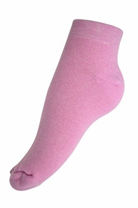 Women's Soft & Warm Comfortable Cashmere Over-Ankle Socks (Baby Pink)