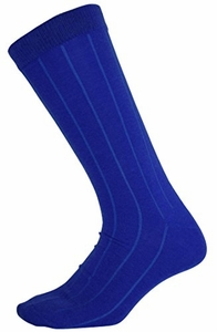 Men's Soft & Warm Comfortable Ribbed Cashmere Socks (Blue)