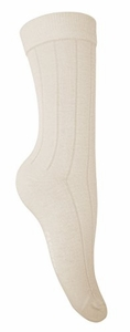 Women's Soft & Warm Comfortable Ribbed Cashmere Socks (Off White)