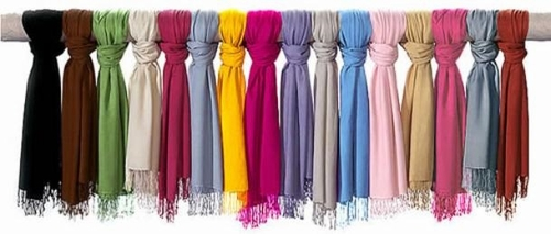 "Luxurious Eco-friendly Solid Pashmina Scarves Shawls <del>$29.95</del><font size=""4"" color=""red""> $9.95</font>"