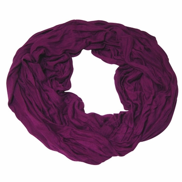 Stylish & Silky Soft Purple Infinity Loop Scarf