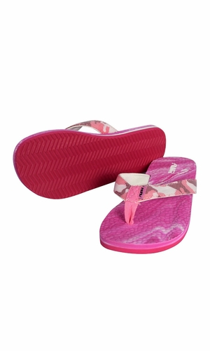 Women's Bright Fun Flip Flops Pool Beach Water Shoes Pink