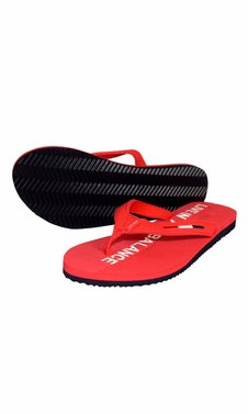 Womens Summer Beach Pool Flip Flops Casual Strappy Slip ONS Red,