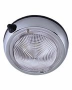 """0300DP1CHR Surface Mount Dome Light 4"""" Chrome Plated (PERKO)"""