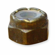 1/2 - 13 Brass Lock Nuts Box of 50