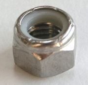 #10 - 24 Stainless Steel Lock Nuts Box of 100
