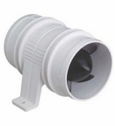 1733-4 Turbo 3000 Blowers 3'' Water-resistant, 12-volt, white (ATTWOOD)