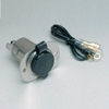 20036 12V Stainless Steel Receptacle With Protective Cap (AFI)