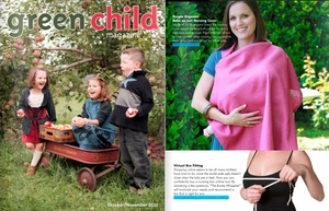 9-2011: Green Child Magazine Breastfeeding Supply Guide featuring our Virtual Bra Fittings
