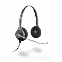 Plantronics HW261 SupraPlus Wideband Binaural Headset New