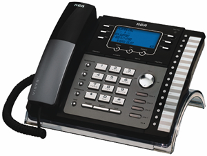 RCA 4-Line Speakerphone with Intercom & Answering System New