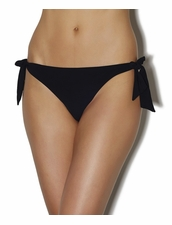 Aubade Swimwear Bomba Latina Tie-Side Bottom in Black