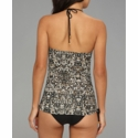 Badgley Mischka Zara Tankini Top