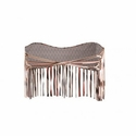 Barcelona Fringe Top in Native