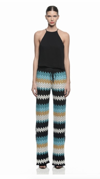 Basic Knit Pants in Monte Carlo