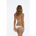 Bettinis Beach Basic Strappy Bikini in Bone