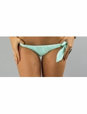 Boys+Arrows Liza the Lunatic Bottom Bikini in Aqua