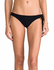 Boys+Arrows Liza the Lunatic Bottom Bikini in Black