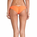Boys+Arrows Liza the Lunatic Bottom Bikini in Tangerine.