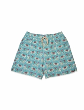 Classic Swim Trunk Light Blue Elefante