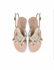 Cocobelle Arrow Sandals in Gold