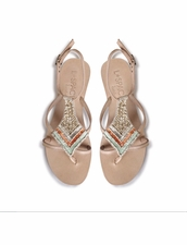 Cocobelle Arrow Sandals in Sand