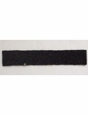 Cocobelle Elastic Solid Belt in Black