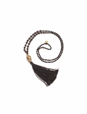 Cocobelle Stone Black Necklace
