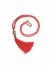Cocobelle Stone Coral Necklace