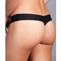 Commando Thong in Black by Her Look