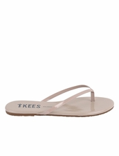 Tkees Glosses in Custard Sandals