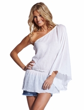 Debbie Katz Cotton One Shoulder