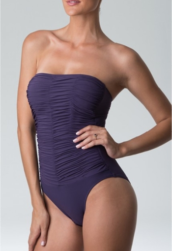 Diva Swimwear Heaven Strapless One Piece in Purple
