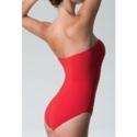 Diva Swimwear Heaven Strapless One Piece - Red